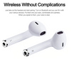 IFANS I9 Bluetooth Mini Double Earbuds Wireless Air inbuilt mic for IPhone 8 7 Plus 6s Android