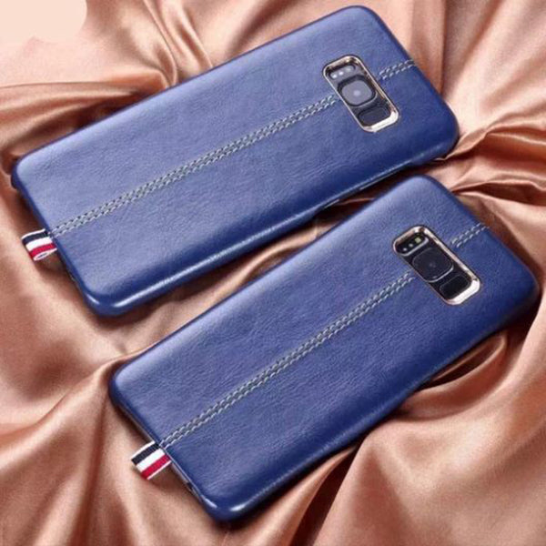 Samsung Galaxy S8 Plus Luxurious Genuine Leather PU Hard Back Case