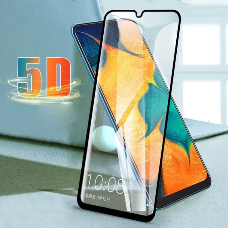 Samsung Galaxy M30 100% Original 5D Tempered Glass Screen Protector