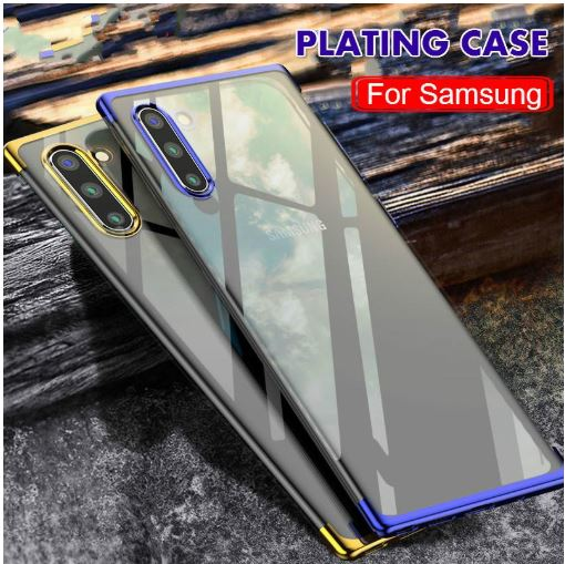 Samsung Galaxy Note 10 Plus Ultra Thin Transparent Luxurious Glitter Hard Case