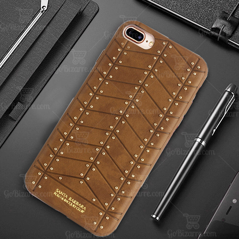 Apple iPhone 7 Plus/8 Plus 100% Original Santa Barbara Armor High Quality Leather Case