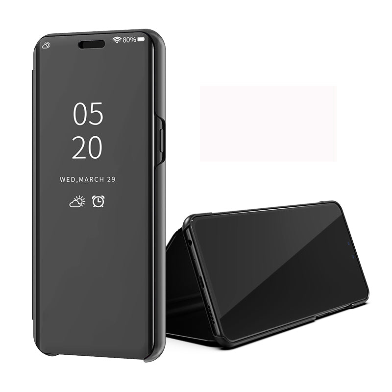 VIVO Y91 Clear View Dynamic Standing Mirror Flip Cover (Non Sensor Working)