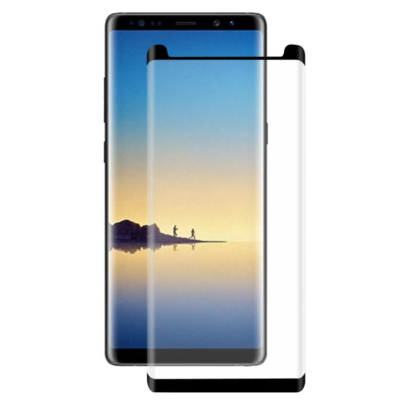 Samsung Galaxy Note 8 Original Half Cut 3D Tempered Glass with Curved Edges