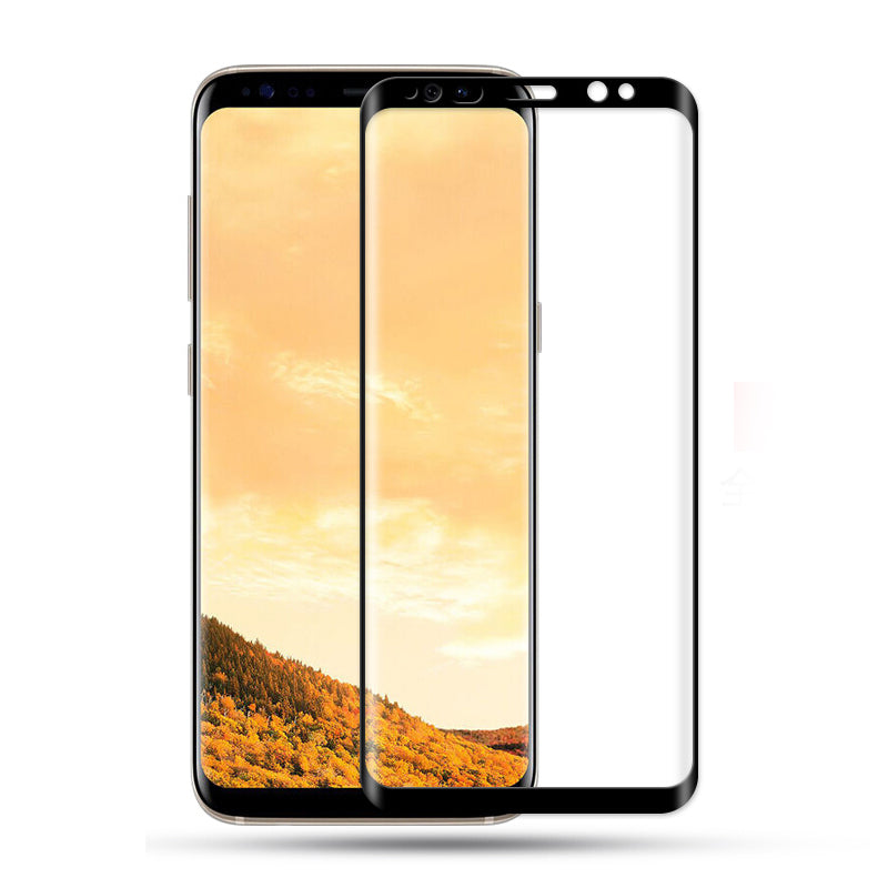Samsung Galaxy S9 100% Original Curved Tempered Glass for Edge to Edge protection