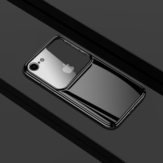 iPhone 7/8 Luxurious Ultra Slim Top Glass Glisten Hard Case