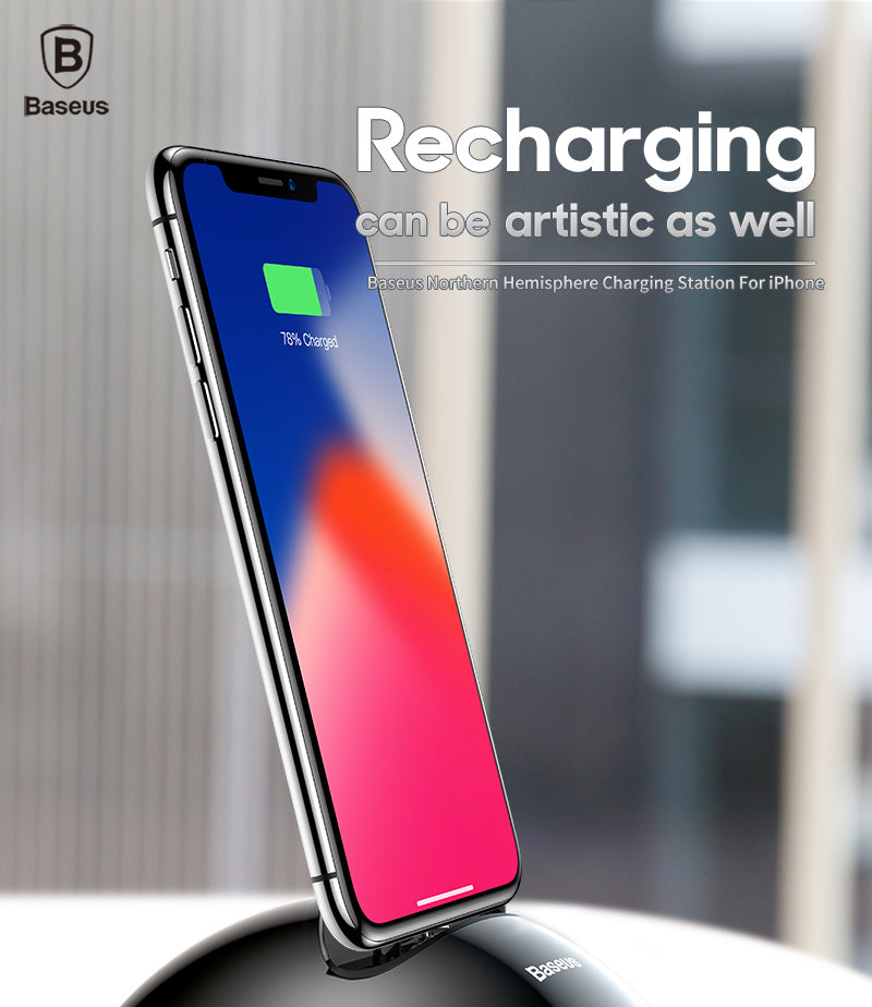 Baseus High Speed Wireless Charging Cum Data Transfer Dock for Apple iPhone