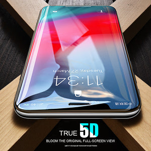 Apple iPhone Xs Max Official 5D 100% Original Curved Tempered Glass Screen Protector
