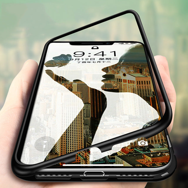 Apple iPhone X/Xs Magnetic Auto-Fit 360 Degrees Armoured Case