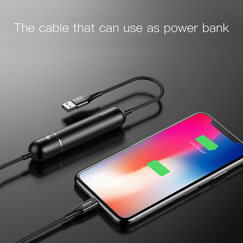 Earldom® 2 in 1 Fast Charging Data Cable Cum Power Bank for Micro Port Enabled Devices