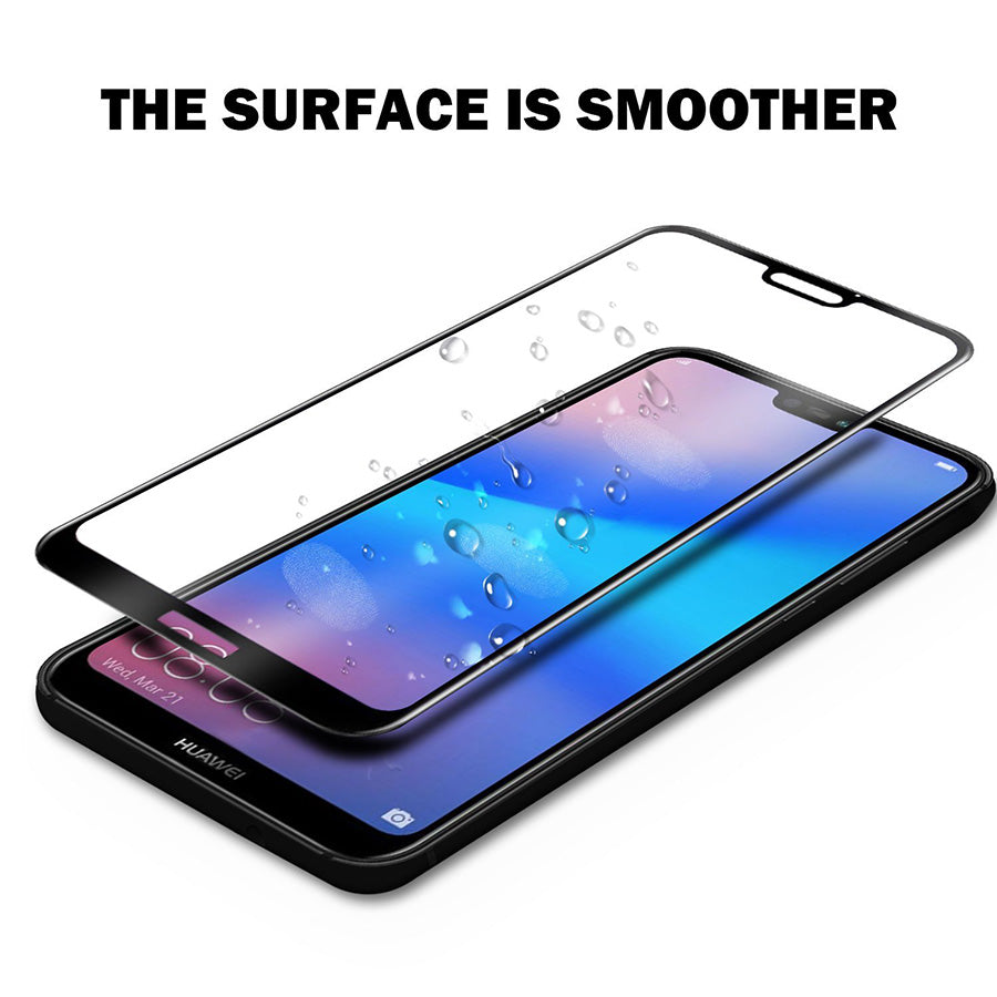 Huawei P20 Lite 100% Original 5D Curved Tempered Glass Screen Protector