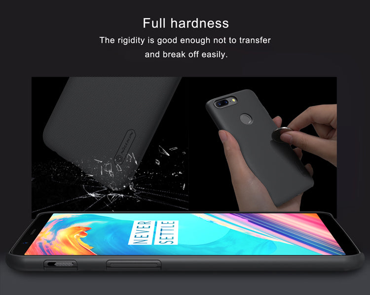 OnePlus 5T Nillkin Frost Series Full Protection Ultra Slim Hard Shell Back