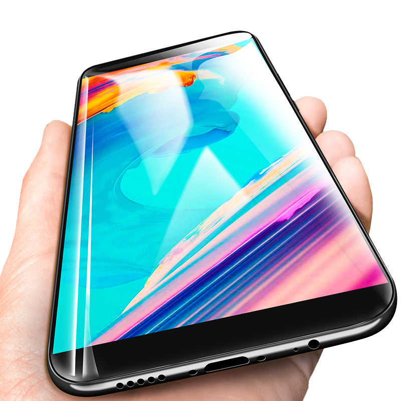 OnePlus 5T Official Gorilla 100% Original 5D Curved Tempered Glass Screen Protector
