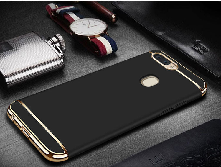 OnePlus 5T Luxurious Electroplated 3 in 1 Hard Back Case