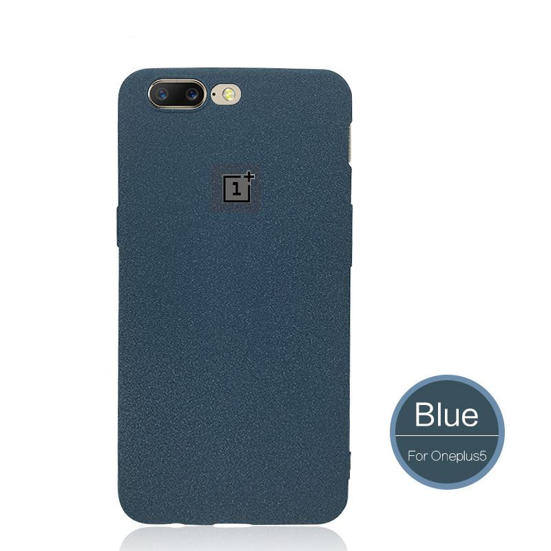 OnePlus 5 Ultra Slim Frosted Sandstone Soft Matte TPU Back Cover