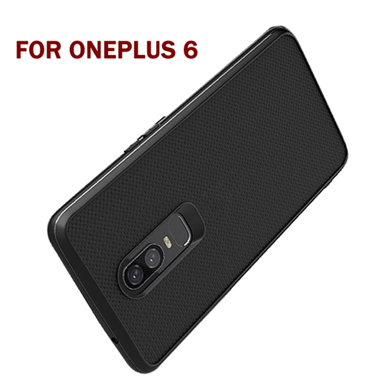 OnePlus 6 Genuine Nylon Weaving Protective Shock Proof Ultra-thin Case