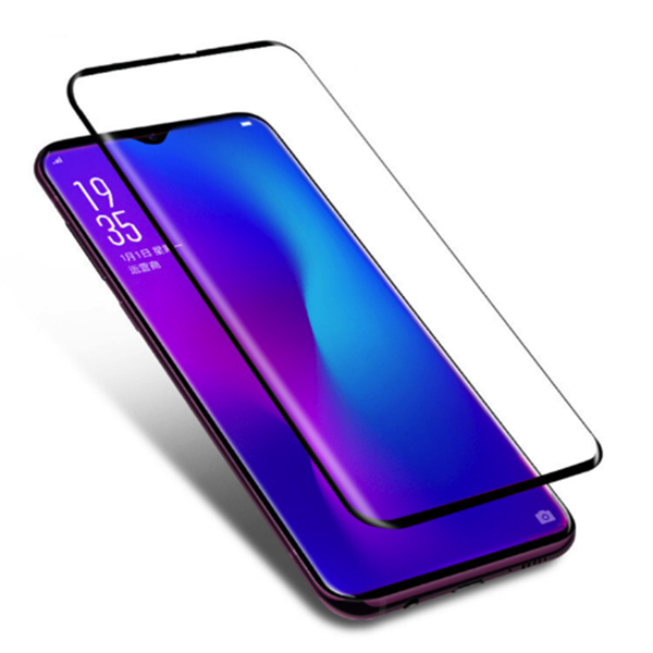100% Original OPPO F11 Pro 5D Curved Tempered Glass Screen Protector