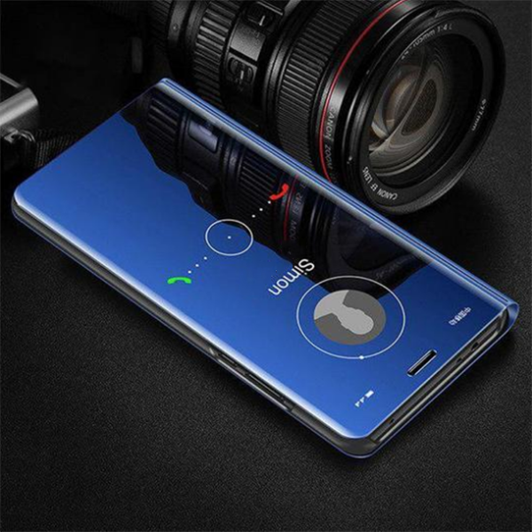 Redmi Note 7/7 Pro Clear View Dynamic Standing Mirror Flip Cover (Non Sensor Working)