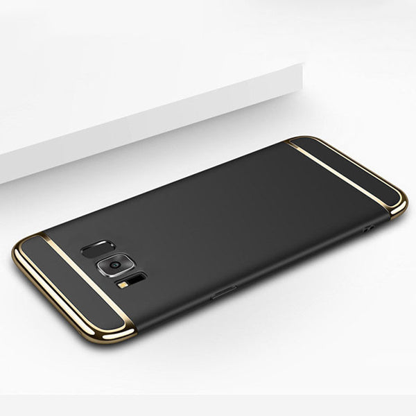 Samsung Galaxy S8 Plus Luxurious Electroplated 3 in 1 Hard Back Case
