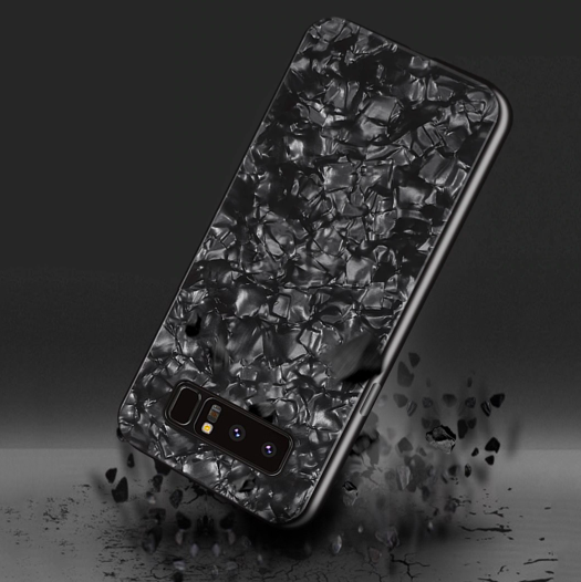 Samsung Galaxy S8 Ultra Slim Toughened Marble Glass Case