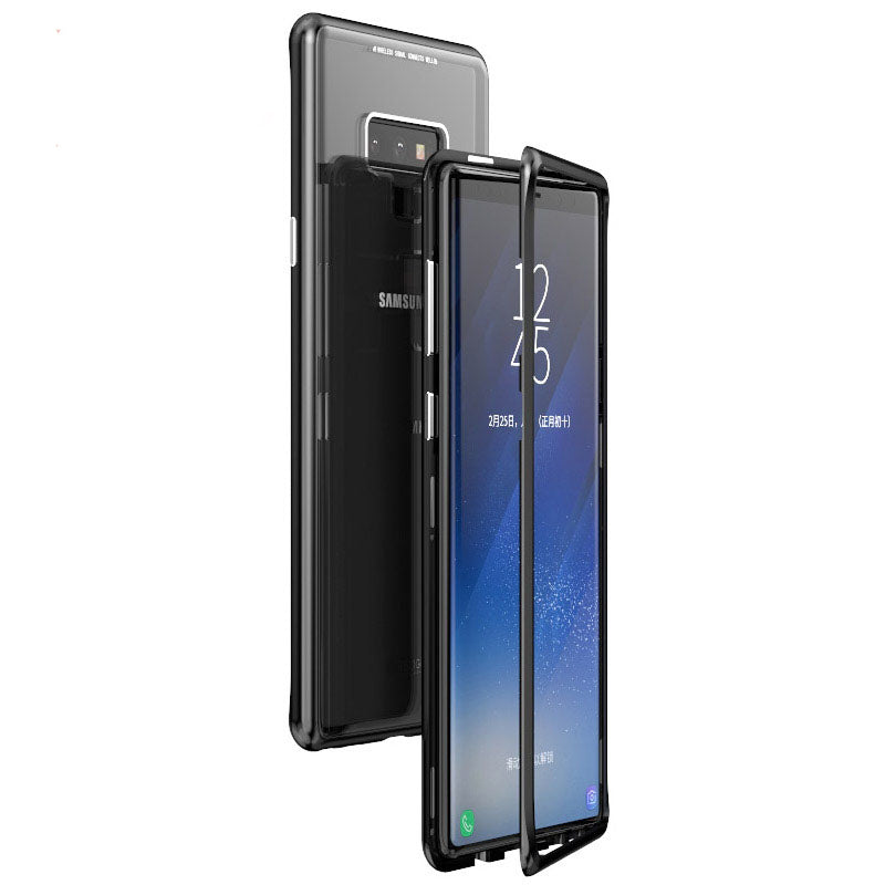 Samsung Galaxy Note 9 Magnetic Auto-Fit 360 Degrees Armoured Case