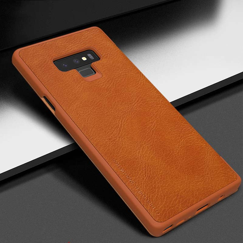 Samsung Galaxy Note 9 XO Vintage Leather Ultra Slim Flip Case