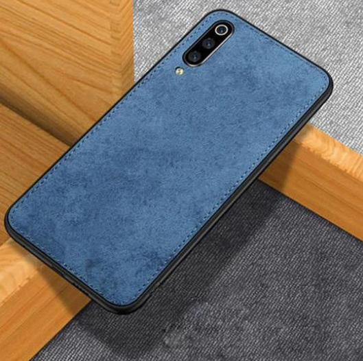 Samsung Galaxy A50 Ultra Slim Suede Fabric TPU Cloth Case
