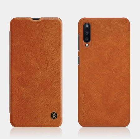 Samsung Galaxy A50/A50s/A30s Original Leather Nillkin Flip Case With Wakeup Card Pocket