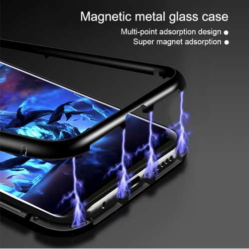 pretty nice 87413 225ba Samsung Galaxy A7(2018) Magnetic Auto-Fit 360 Degrees Armoured Case
