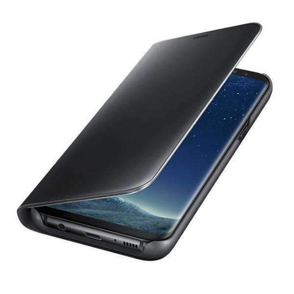 Samsung Galaxy A7 (2018) Clear View Dynamic Standing Mirror Flip Cover (Non Sensor Working)