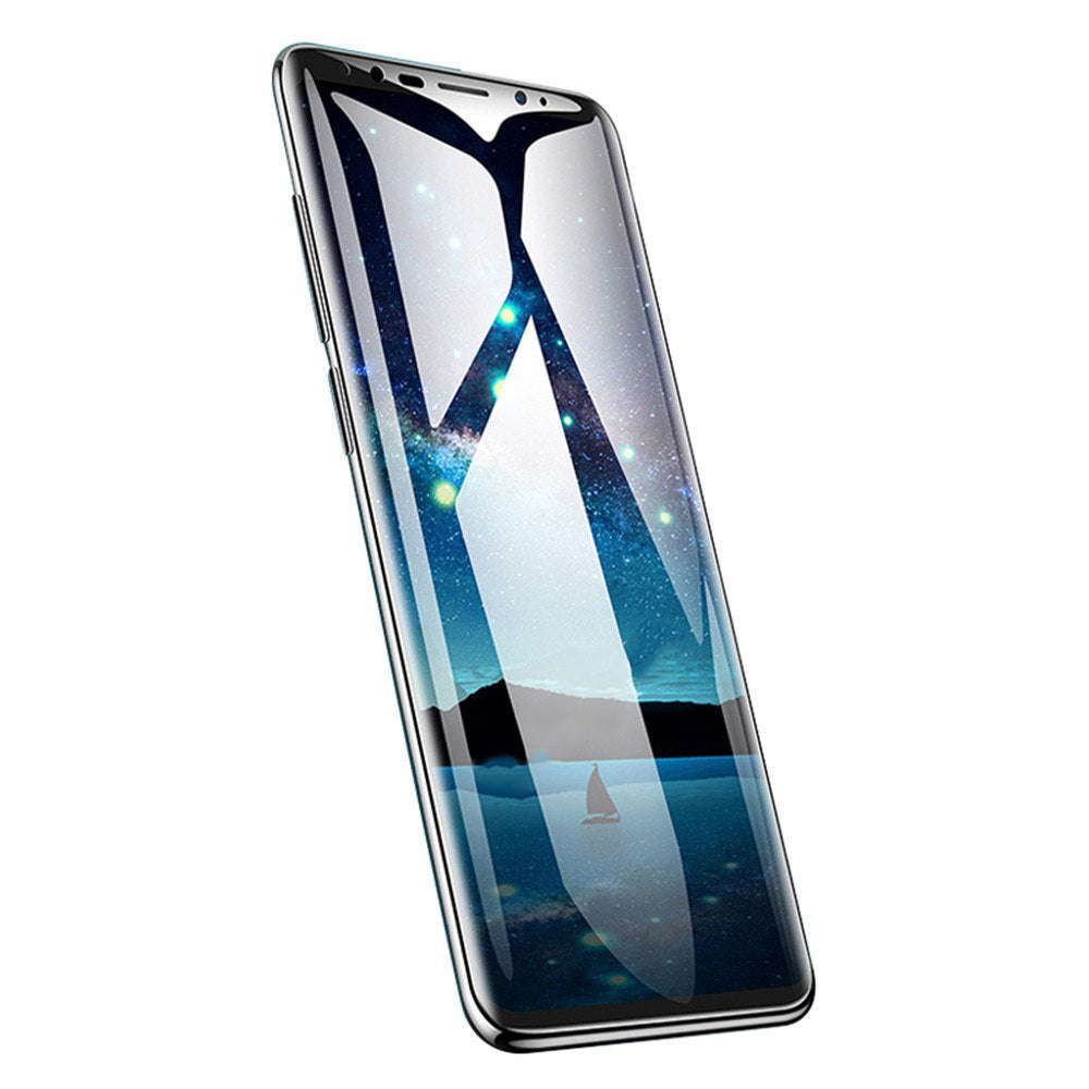 Samsung Galaxy A6 Plus Official 5D 100% Original Curved Tempered Glass Screen Protector