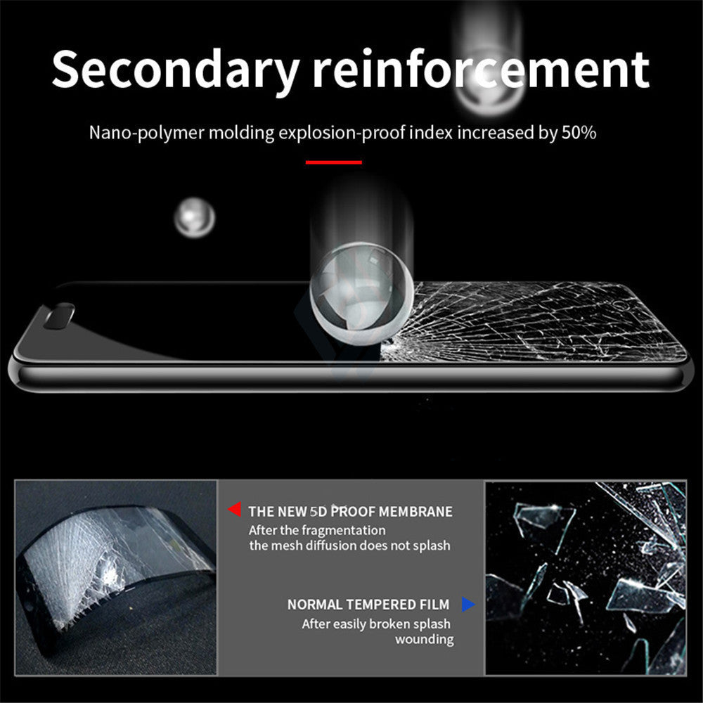 Samsung Galaxy J8 Official 5D 100% Original Curved Tempered Glass Screen Protector