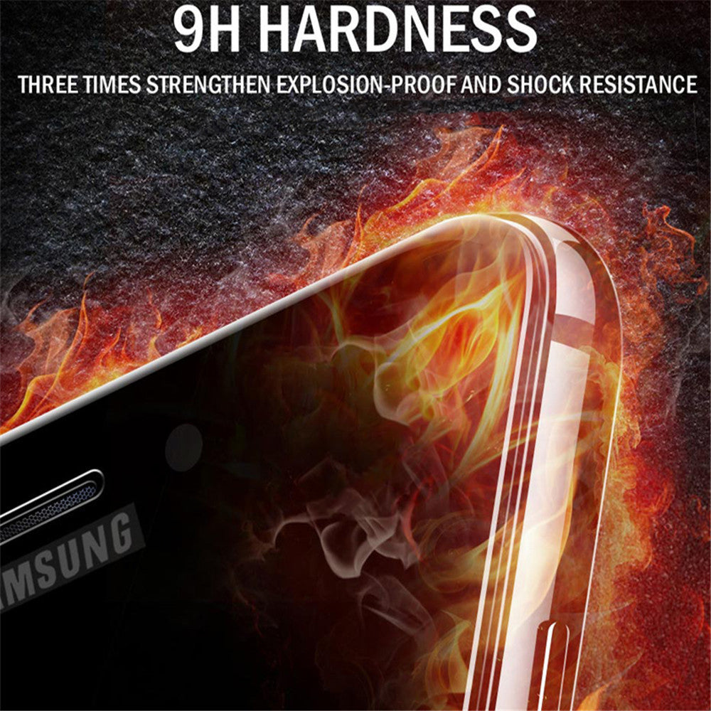Samsung Galaxy A8 Plus Official 5D 100% Original Curved Tempered Glass Screen Protector