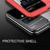 Samsung Galaxy J8 Luxurious Design Half Glass Shockproof Ultra Slim Hard Case
