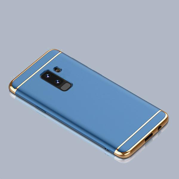 save off e280b 71eb3 Samsung Galaxy J8 Luxurious Electroplated 3 in 1 Hard Back Case