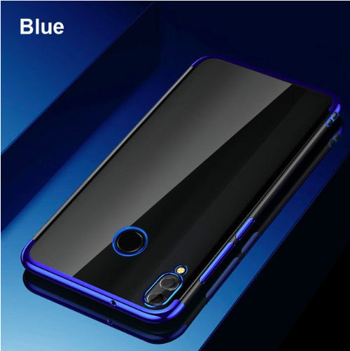 Redmi Note 7/7 Pro Ultra Thin Transparent Luxurious Glitter Soft Silicone Case