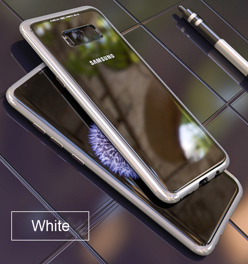 Samsung Galaxy S7 Edge Magnetic Auto-Fit 360 Degrees Armoured Case