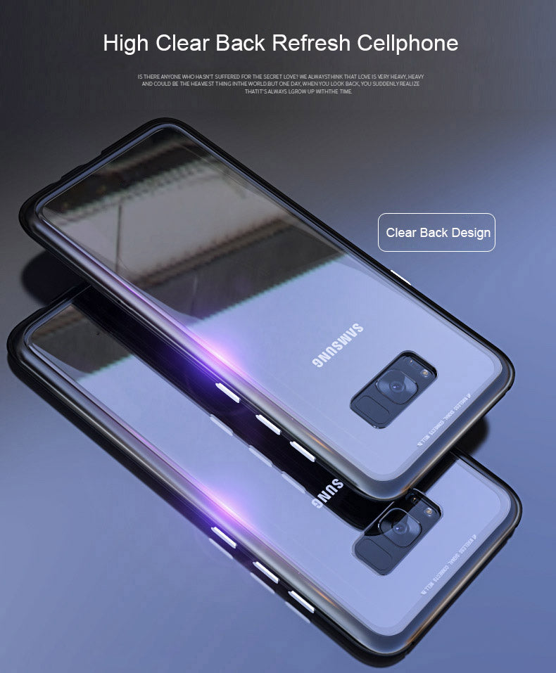 Samsung Galaxy S8 Magnetic Auto-Fit 360 Degrees Armoured Case