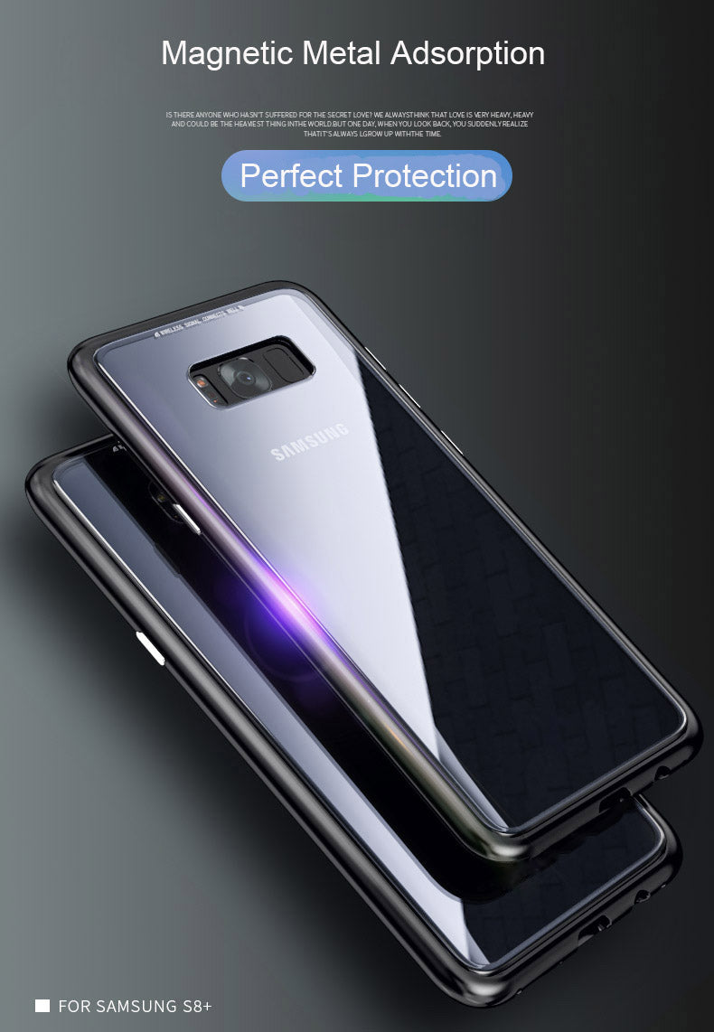 Samsung Galaxy Note 8 Magnetic Auto-Fit 360 Degrees Armoured Case