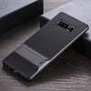 Samsung Galaxy Note 8 Luxurious Kickstand Full Protection Matte Hybrid Shell