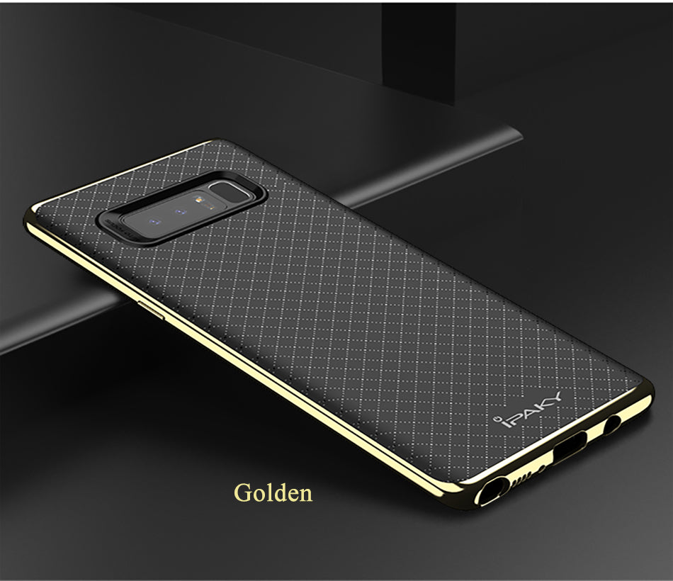 Samsung Galaxy Note 8 Genuine Electroplated Shockproof TPU Hybrid Case