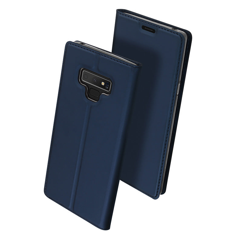 Samsung Galaxy Note 9 Dux Ducis Genuine PU Leather Card Slot Flip Case