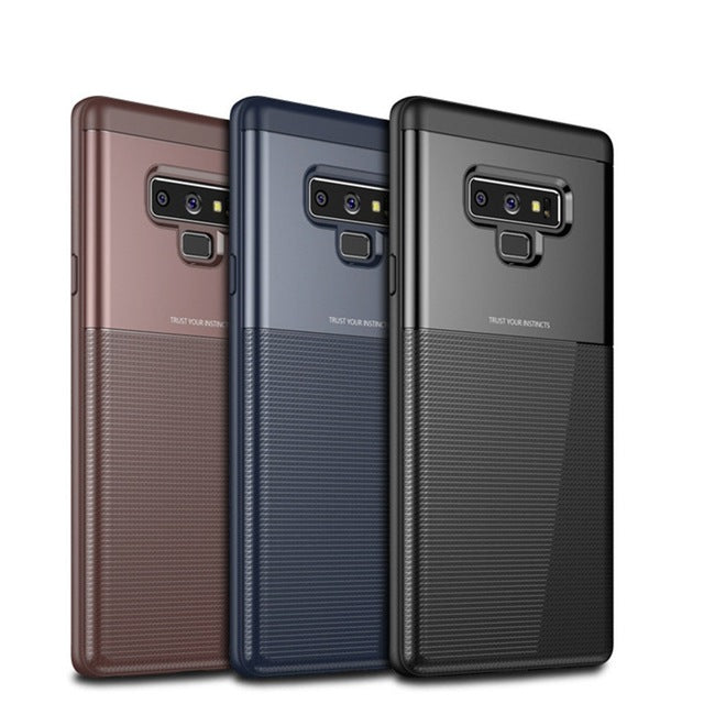 Samsung Galaxy Note 9 Luxurious 2 in 1 Hybrid Armor Soft TPU+PC Case