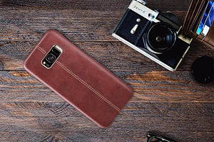 Samsung Galaxy S8 Luxurious Genuine Leather PU Hard Back Case