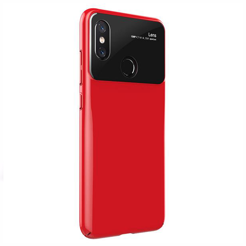 VIVO V9 Luxurious Design Half Glass Shockproof Ultra Slim Hard Case