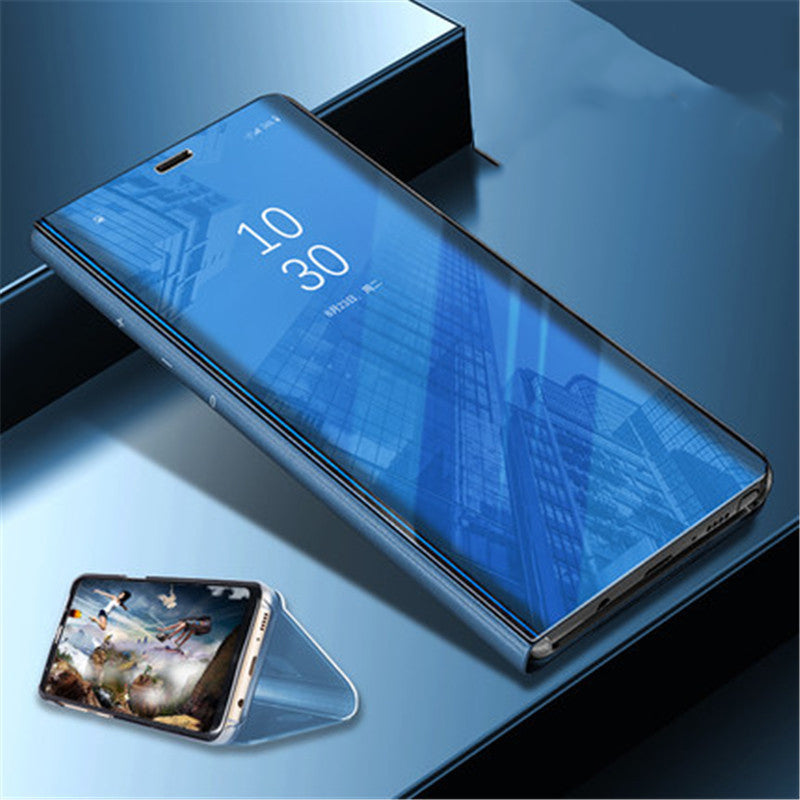 Vivo V9 Clear View Dynamic Standing Mirror Flip Cover (Non Sensor Working)