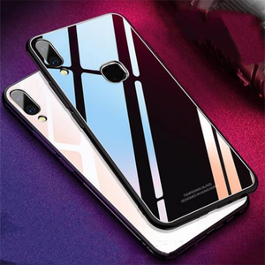 Vivo Y93 Toughened 5D Back Glass Wireless Edition Ultra Slim Case