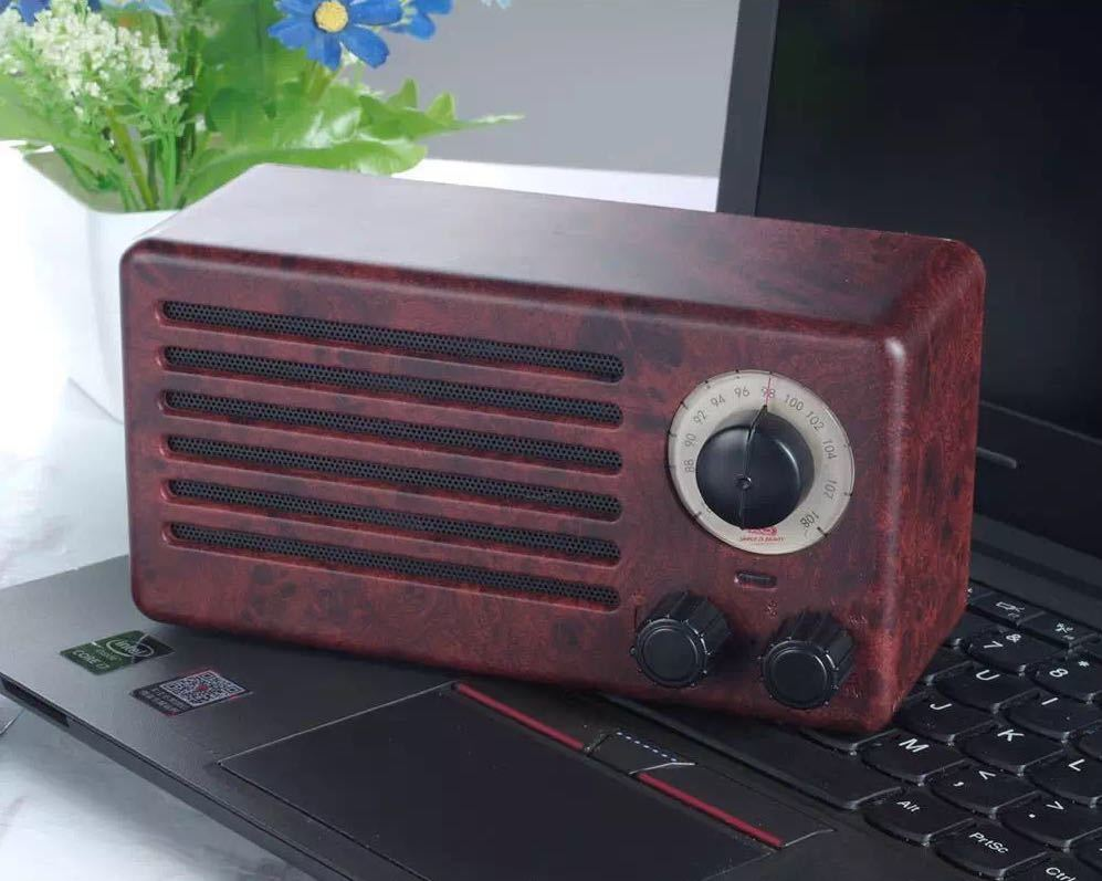 01f6e5ce6 XO Luxurious Retro FM Radio Cum Bluetooth Wireless Speaker ...