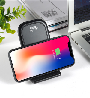 XO High Speed Wireless Smartphone Charging Stand for Apple, Samsung and Other QI-Enabled Devices