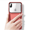 iPhone X/XS Luxurious Ultra Slim Top Glass Glisten Hard Case