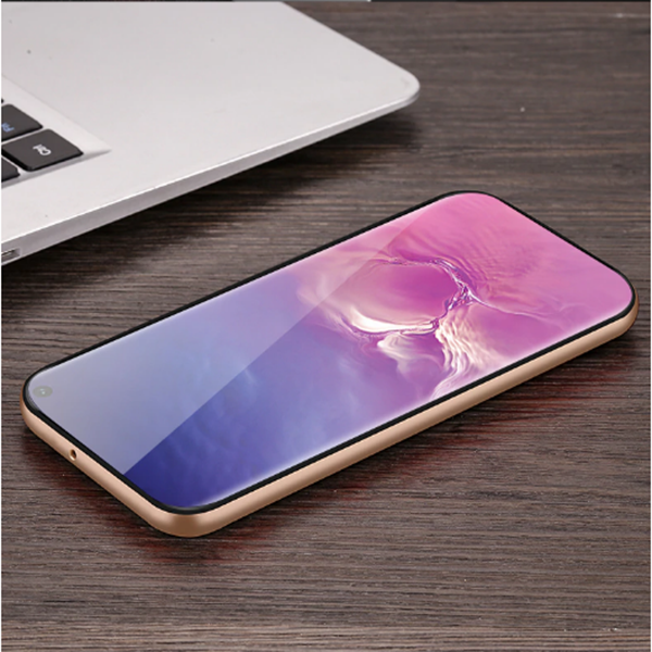 Samsung Galaxy S10 Plus Luxurious Kickstand Full Protection Matte Hybrid Shell